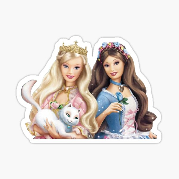 Barbie Princess and the Pauper Sticker