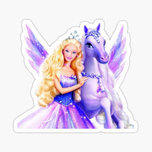 Barbie Magic of Pegasus Sticker