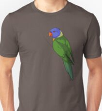 Clingy Regenbogen Lorikeet Slim Fit T-Shirt