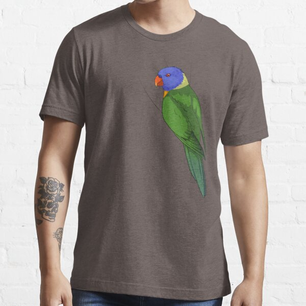 Clingy Rainbow Lorikeet Essential T-Shirt