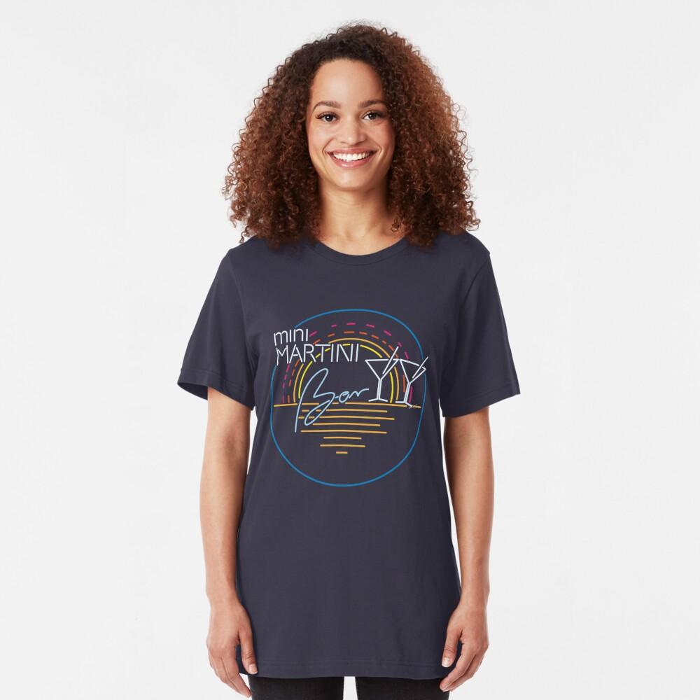 mini MARTINI BAR Slim Fit T-Shirt
