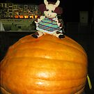 Giant Pumpkin at Warragul Agi Show by Bev Pascoe