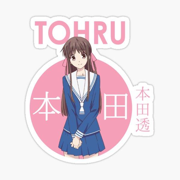 Tohru Honda Fruits Basket Circle Anime Pegatina