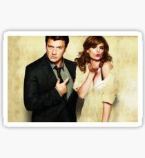 Castle & Beckett Sticker
