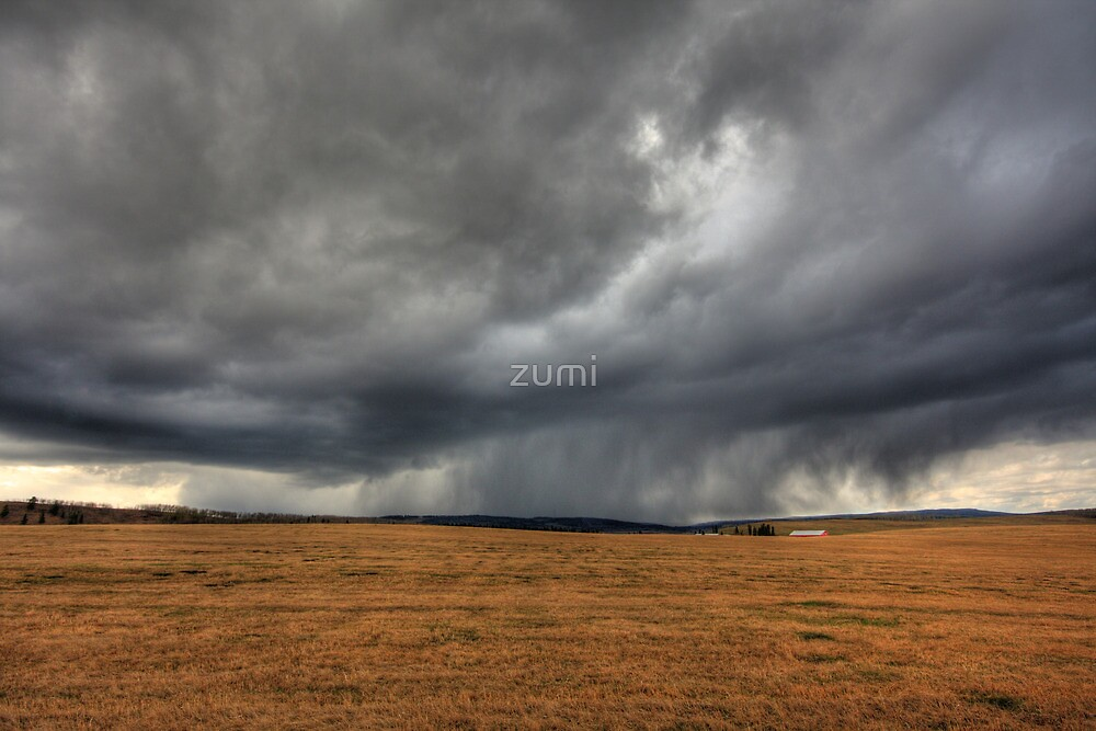 Az eső lába (the rain in HDR) by zumi
