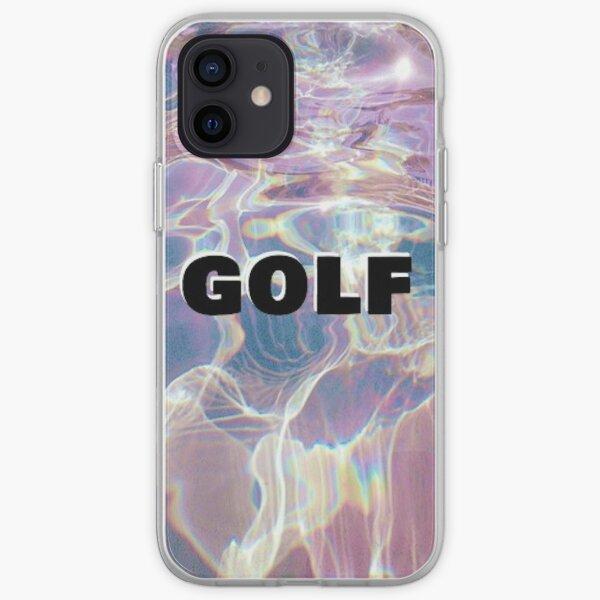 Golf holográfico Funda blanda para iPhone