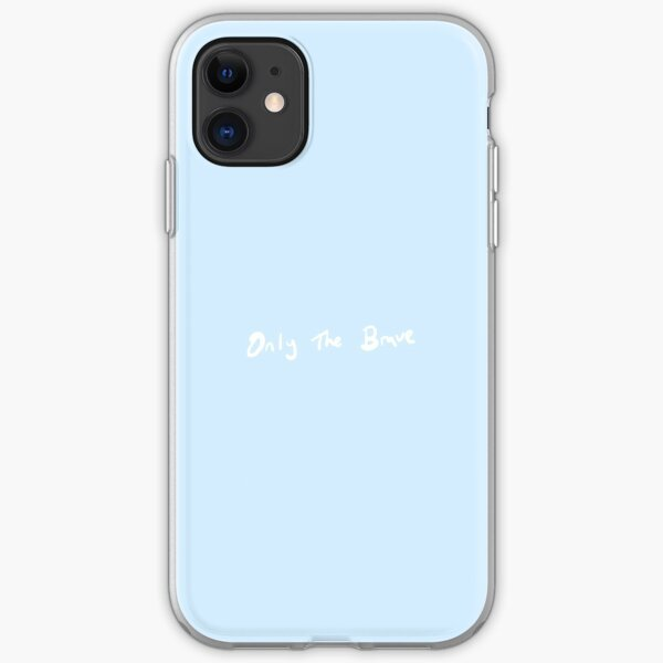 Louis Tomlinson Handwriting Only The Brave (White) iPhone Soft Case