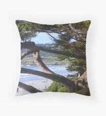 Pebble Beach Lodge! Throw Pillow