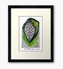 The Exhausted Leaf Framed Print