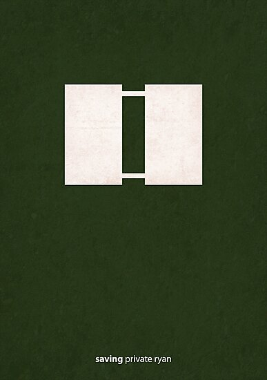 Saving Private Ryan - Minimal Poster by konman96