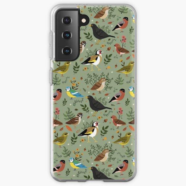 Garden Birds Samsung Galaxy Soft Case