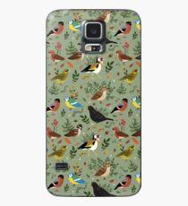 Garten Vögel Hülle & Skin für Samsung Galaxy