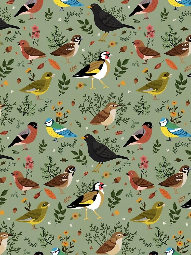 Garden Birds by sophieeves90