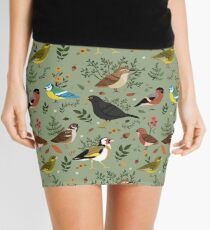 Garden Birds Mini Skirt