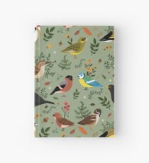 Cuaderno de tapa dura Garden Birds