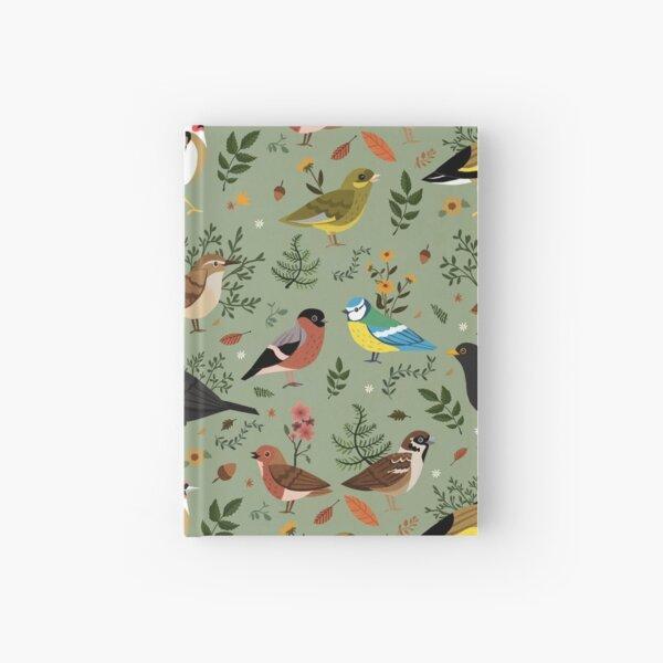 Garden Birds Hardcover Journal