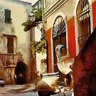 Old town of Loano - Italy by Gilberte