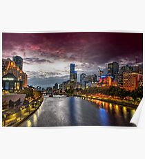 Southgate, Melbourne Poster