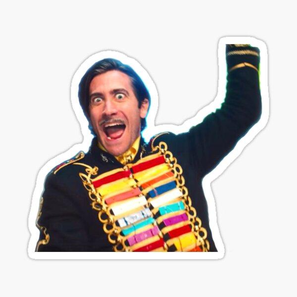 Jake Gyllenhaal Mr. Music Sack Lunch Bunch Sticker