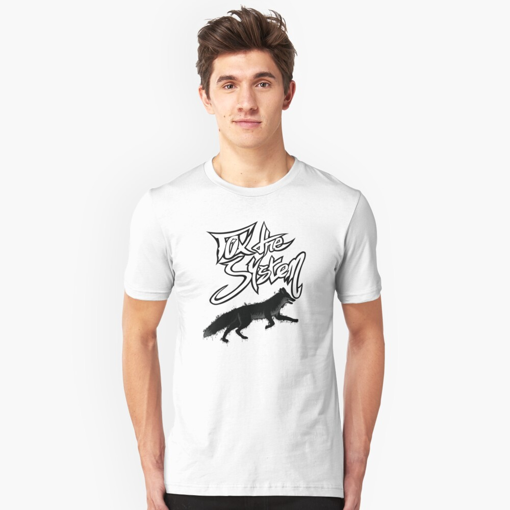 FOX THE SYSTEM Slim Fit T-Shirt