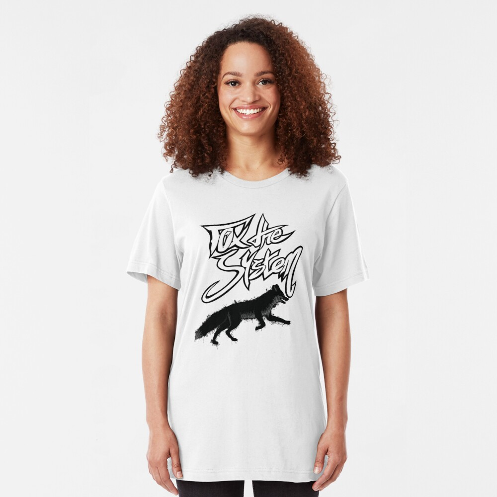 FOX THE SYSTEM Slim Fit T-Shirt