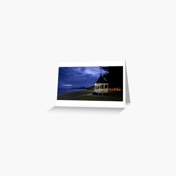 Rotonda Sorrento Front Beach Greeting Card