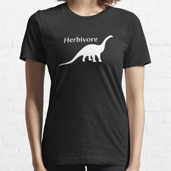 Herbivore Dinosaur White Essential T-Shirt