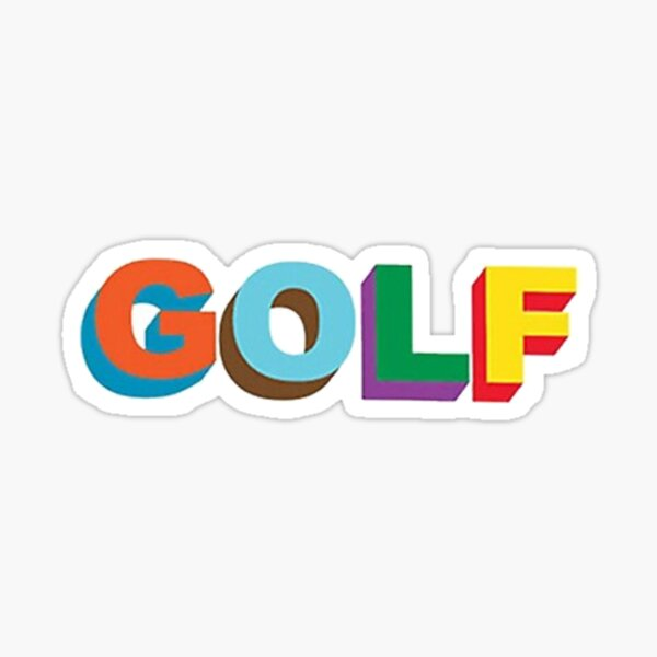 Official GOLF by Tyler, the Creator Merch Sticker