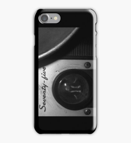 The Man in the Camera iphone iPhone Case/Skin