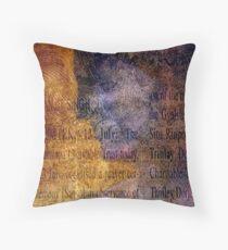 Inteligencia Matriculata Throw Pillow