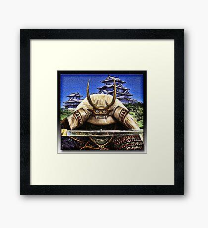 Shogun Framed Print