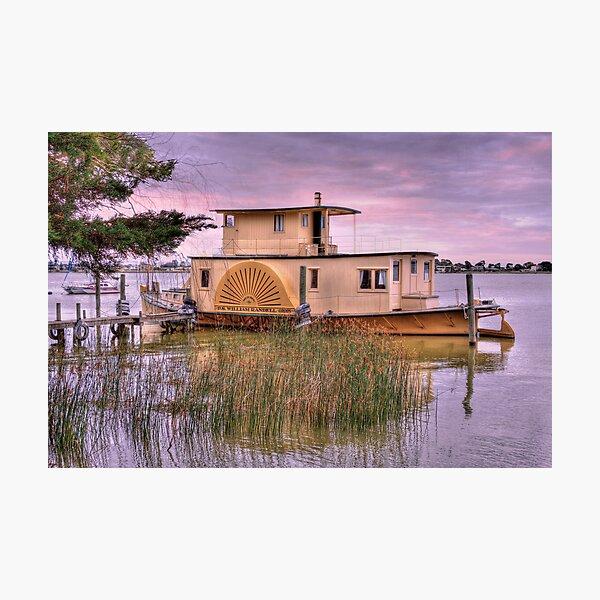 P.S William Randell - Lake Alexandrina, South Australia Photographic Print