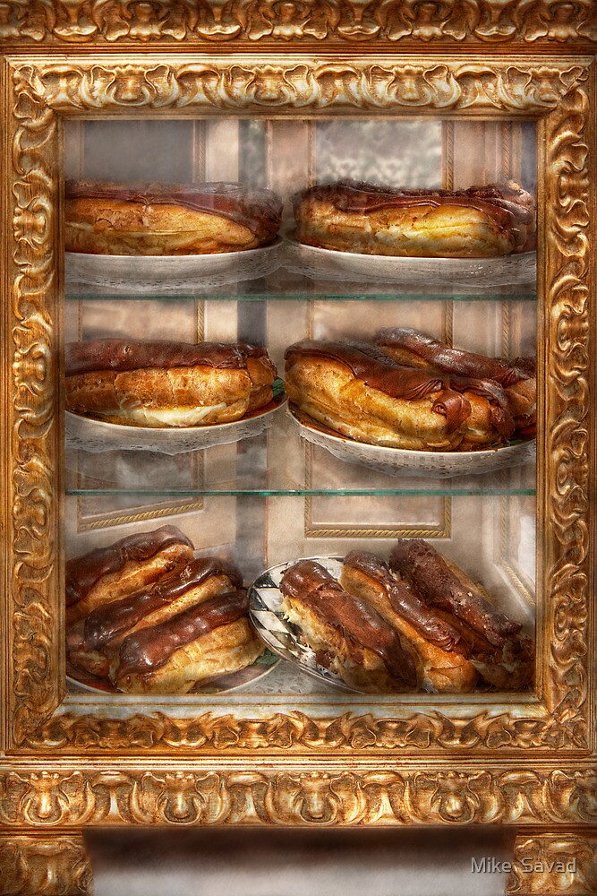 Sweet - Eclair - Chocolate Eclairs by Michael Savad