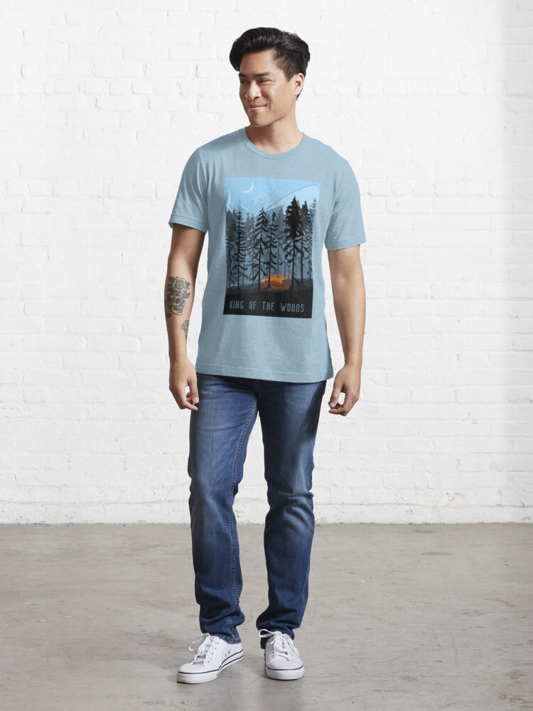 Alternate view of KING OF THE WOOD Essential T-Shirt