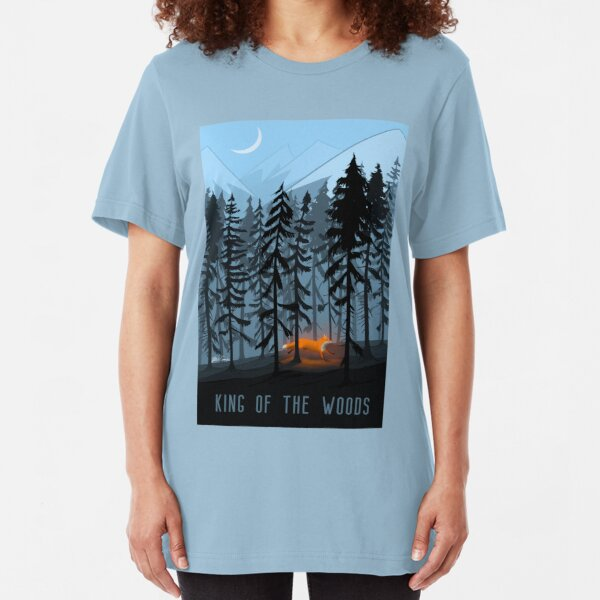 KING OF THE WOOD Slim Fit T-Shirt