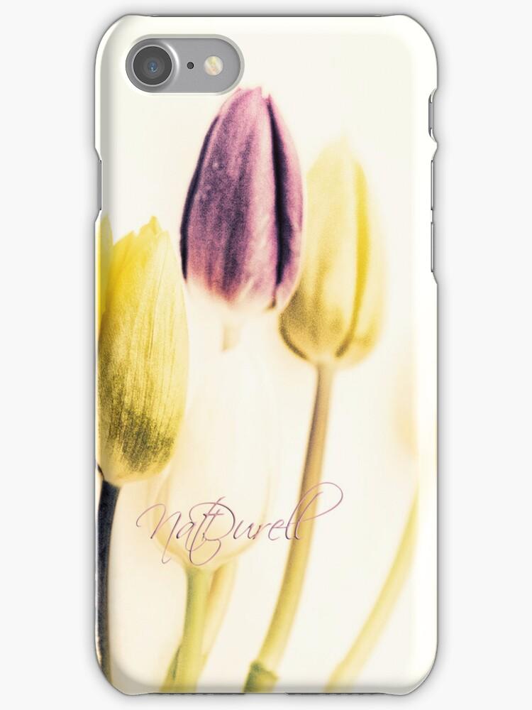 Vintage Tulips by Natalie Durell