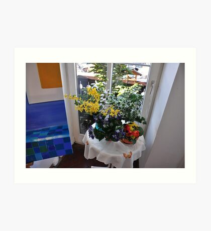 corner at home Art Print