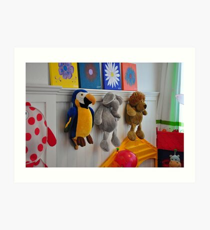 toys on the wall Art Print