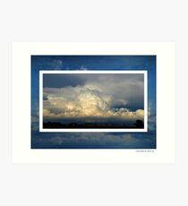 Clouds within the Clouds ! Art Print