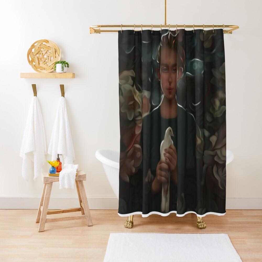 Messenger of hope Shower Curtain