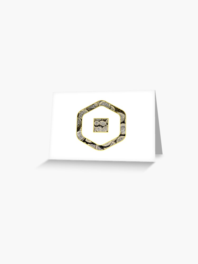 Roblox Robux Adopt Me Pounds Greeting Card By T Shirt Designs