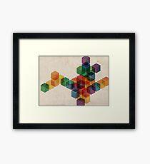 cube² Framed Print