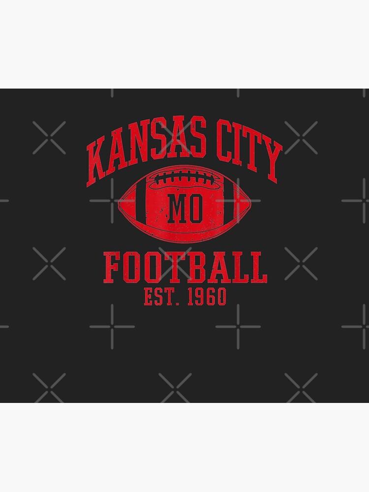 Kansas City Football | Vintage KC Missouri Chief Retro Gift by OlivierSchnei
