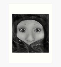 Ms Stump  Art Print