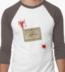 Global Revenant Eradication Agent Men's Baseball ¾ T-Shirt
