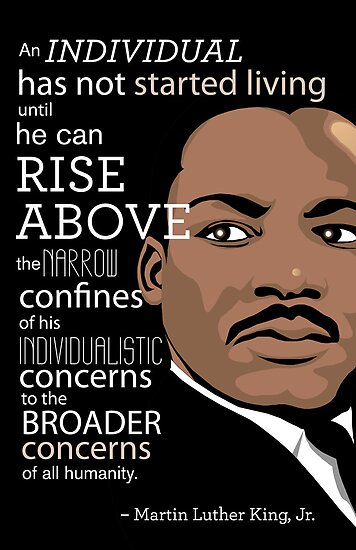 Inspirational Quote Martin Luther King Jr Posters By Jessica