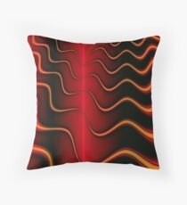 The Burning Throw Pillow