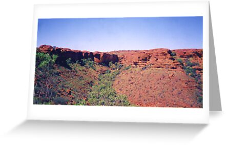 Kings Canyon, Northern Territory by Michael John