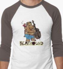 Singing Bird and Bear Men's Baseball ¾ T-Shirt