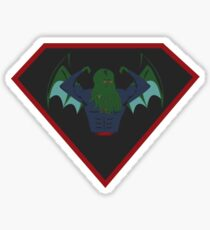 Super Cthulhu Sticker
